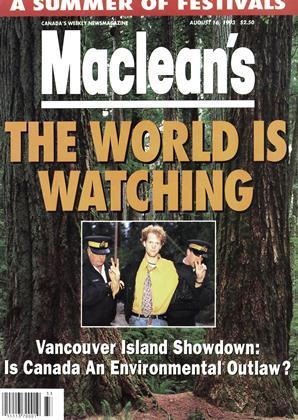AUGUST 16, 1993 | Maclean's