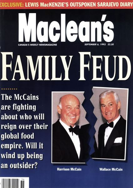 Issue: - September 1993 | Maclean's