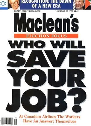 SEPTEMBER 20, 1993 | Maclean's