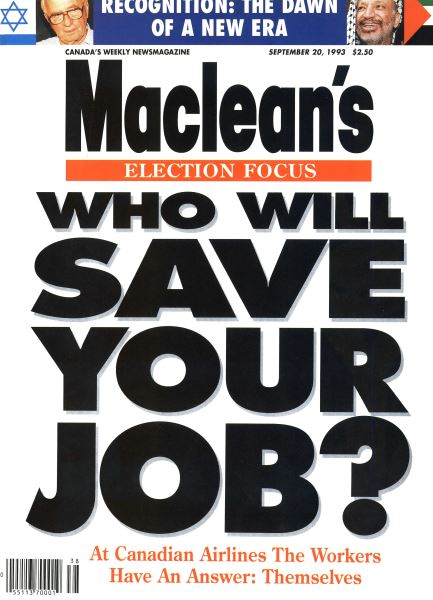 Issue: - September 1993   Maclean's