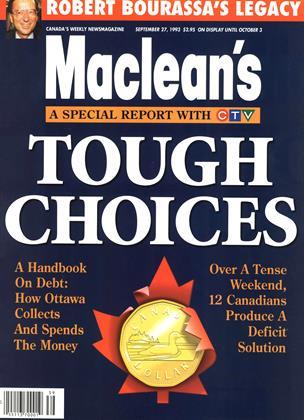 SEPTEMBER 27, 1993 | Maclean's
