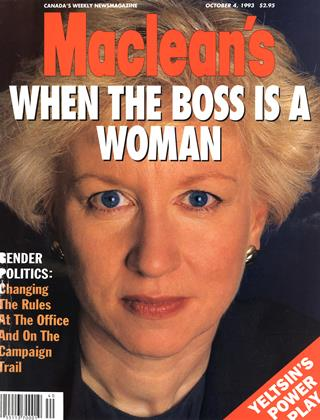 Cover for the October 4 1993 issue