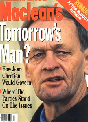 OCTOMBER 18, 1993 | Maclean's