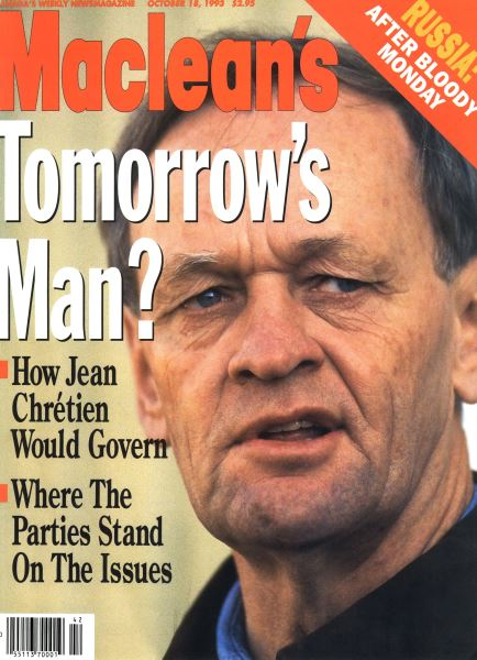 Issue: - OCTOMBER 18, 1993 | Maclean's