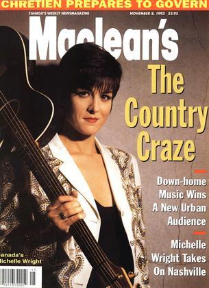 NOVEMBER 8, 1993 | Maclean's