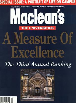 NOVEMBER 15, 1993 | Maclean's