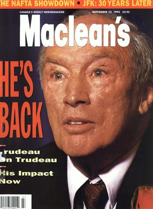 Cover for the November 22 1993 issue