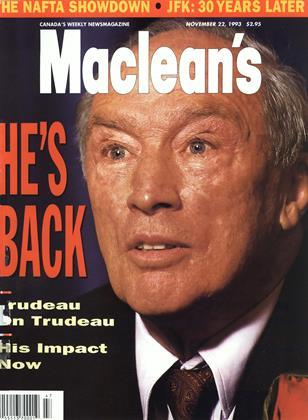 NOVEMBER 22, 1993 | Maclean's