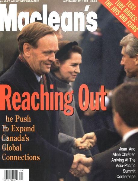 Issue: - November 1993 | Maclean's