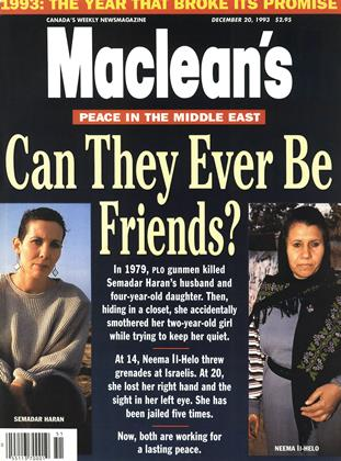 DECEMBER 20, 1993 | Maclean's