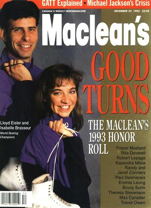 DECEMBER 27, 1993 | Maclean's