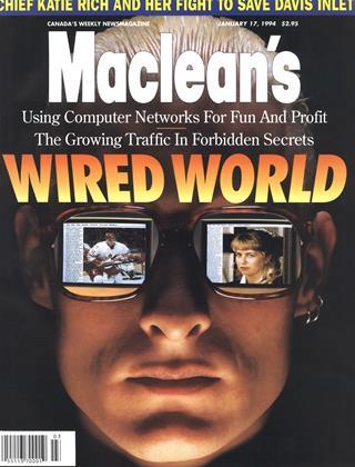 JANUARY 17, 1994 | Maclean's