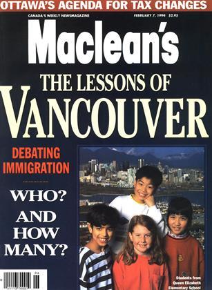 FEBRUARY 7, 1994 | Maclean's