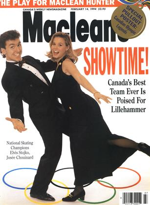 Cover for the February 14 1994 issue