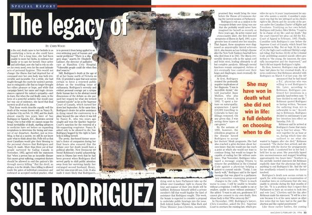 The legacy of SUE RODRIGUEZ