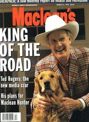 Cover for the March 21 1994 issue