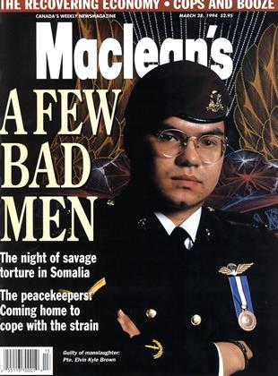 Maclean's, Page: 0_1 - MARCH 28, 1994   Maclean's