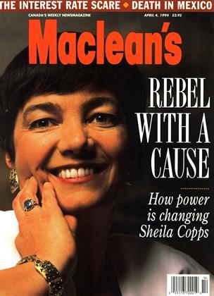 APRIL 4, 1994 | Maclean's