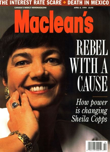 Issue: - April 1994 | Maclean's