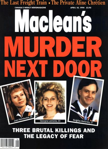 Issue: - April 1994   Maclean's