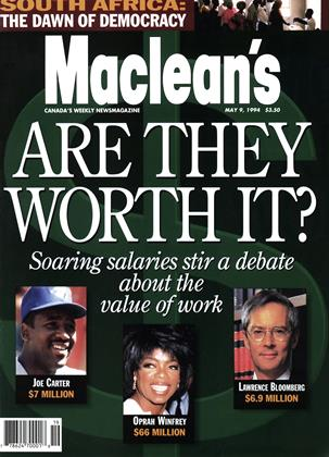Cover for the May 9 1994 issue