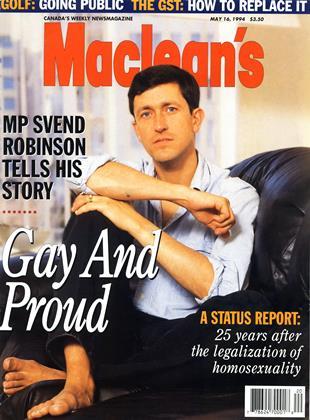 MAY 16, 1994 | Maclean's