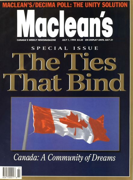 Issue: - July 1994 | Maclean's