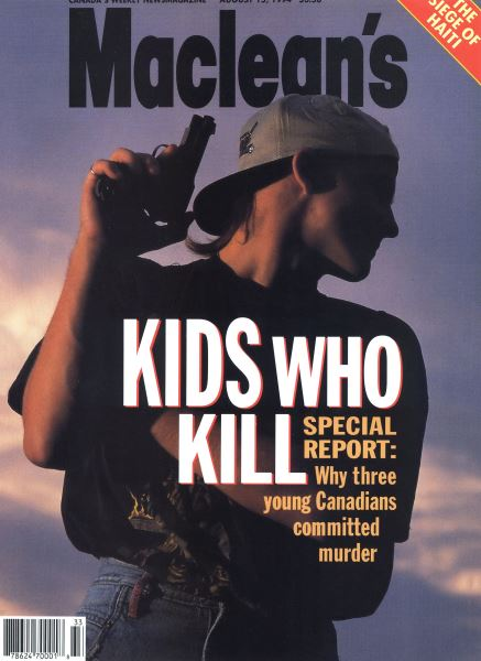 Issue: - August 1994 | Maclean's