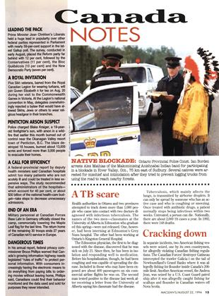 Cracking down, Page: 13 - AUGUST 22, 1994 | Maclean's