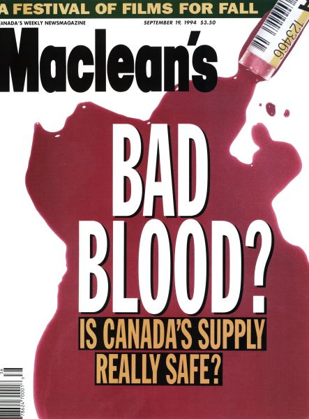 Issue: - September 1994 | Maclean's