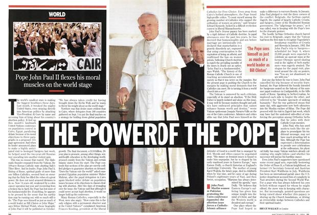 THE POWER OF THE POPE