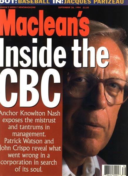 Issue: - September 1994 | Maclean's