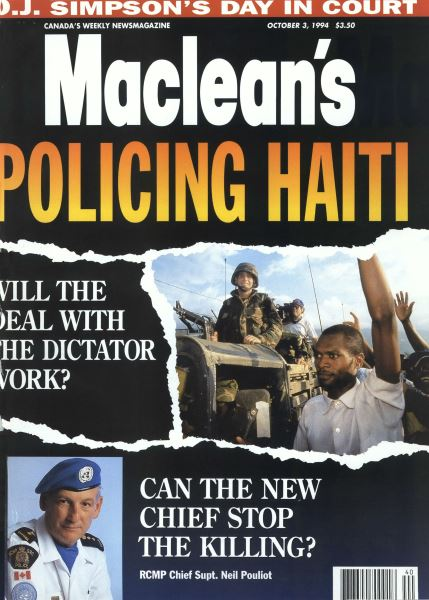 Issue: - October 1994 | Maclean's