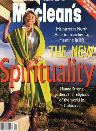 OCTOBER 10, 1994 | Maclean's