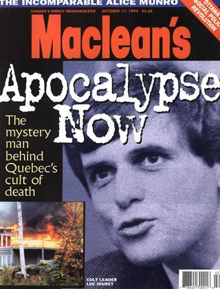 OCTOBER 17, 1994 | Maclean's