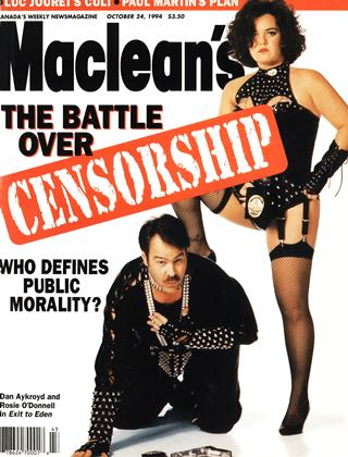 Cover for the October 24 1994 issue