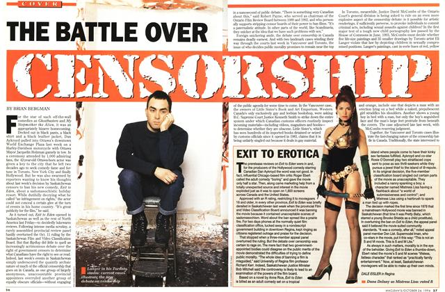 THE BATTLE OVER CENSORSHIP