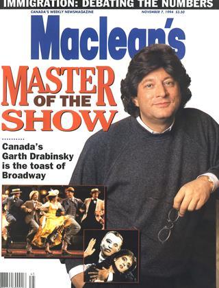 NOVEMBER 7, 1994 | Maclean's