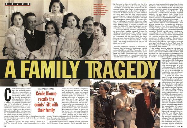 A FAMILY TRAGEDY