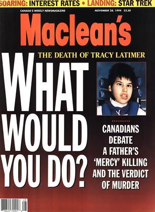 NOVEMBER 28, 1994 | Maclean's