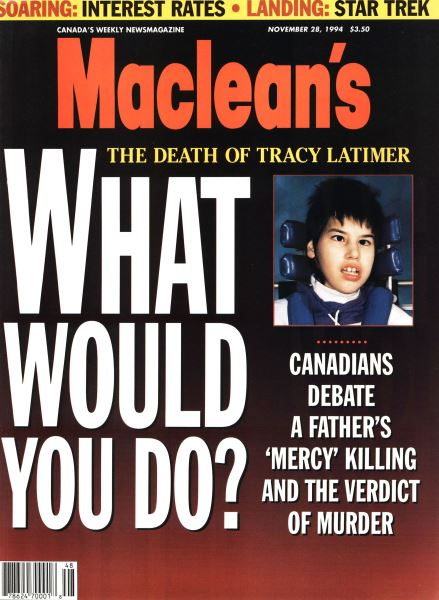 Issue: - November 1994 | Maclean's