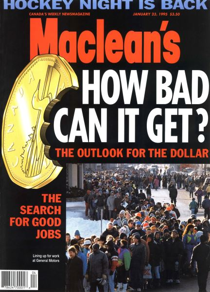 Issue: - January 1995 | Maclean's