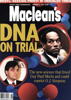 Cover for the February 6 1995 issue
