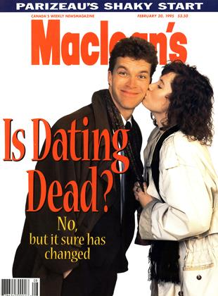 Cover for the February 20 1995 issue