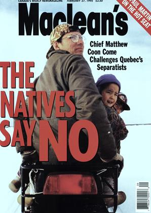 Cover for the February 27 1995 issue
