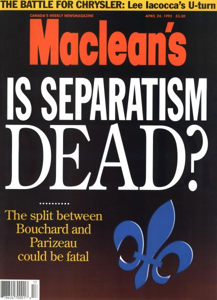 Issue: - April 1995 | Maclean's