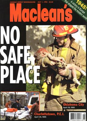 Cover for the May 1 1995 issue