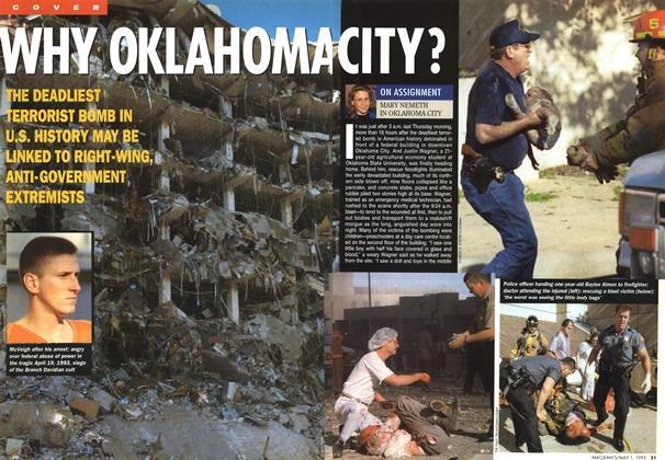 WHY OKLAHOMA CITY? | Maclean's | MAY 1, 1995