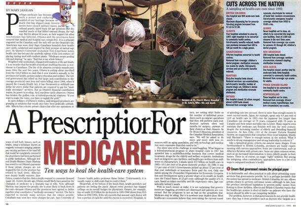 A Prescription For MEDICARE