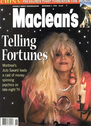 Cover for the September 4 1995 issue